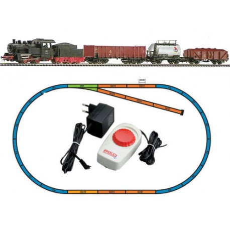 ** Piko 57160 Hobby DB Steam Freight Starter Set - HO Scale