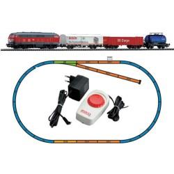 ** Piko 57151 Hobby DB BR218 Freight Passenger Starter Set - HO Scale