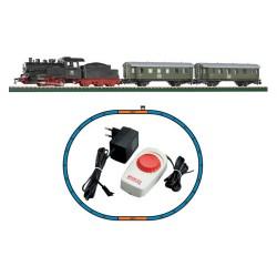 ** Piko 57110 Hobby DB Steam Passenger Starter Set - HO Scale