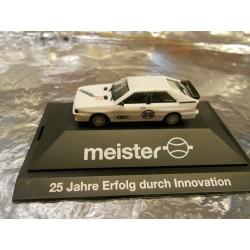 "** Herpa 296847  Audi Ur Quattro  "" Meister ""."