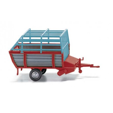 ** Wiking 038101 Hay Loader Red/Grey