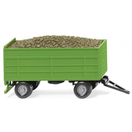 ** Wiking 038815 Beet Trailer Green
