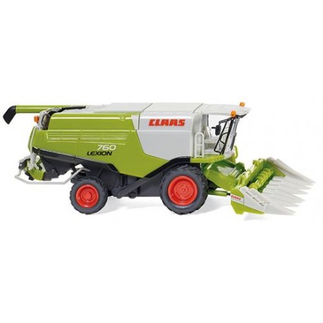 ** Wiking 038911 Claas Lexion 760 Combine with Conspeed Corn Header