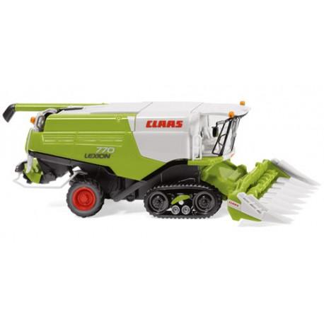 ** Wiking 038913 Claas Lexion 770 TT Combine Harvester w/Cornheader