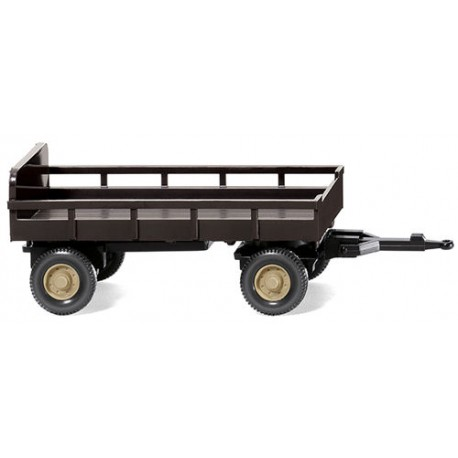 ** Wiking 086903 Agricultural Trailer Brown