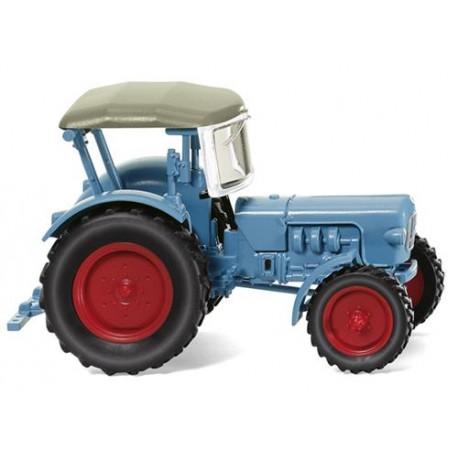 ** Wiking 087103 Tractor Eicher Konigstiger Light Blue