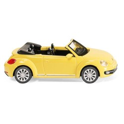 ** Wiking 002801 VW Beetle Cabriolet Saturn Yellow