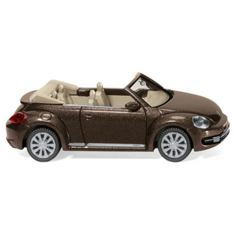 ** Wiking 002802 VW Beetle Cabriolet Metallic Brown