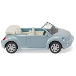 ** Wiking 003204 VW New Beetle Cabriolet Metallic Aqua Blue