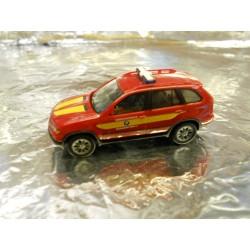 "** Herpa 045957 BMW X5 ""Fire Department BMW Plant Regensburg"" ™"