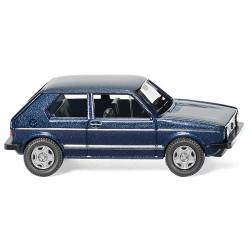 ** Wiking 004502 VW Golf I GTI Metallic Blue