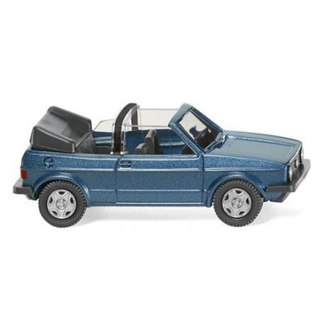 ** Wiking 004604 VW Golf I Cabriolet Metallic Ocean Blue