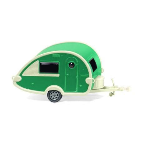 ** Wiking 009238 Caravan Green/Pearl White