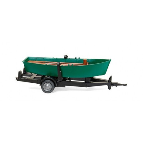 ** Wiking 009401 Trailer Mounted Rowing Boat