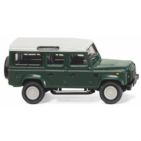 ** Wiking 010202 Land Rover Defender 110 Keswick Green