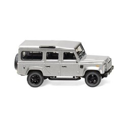 ** Wiking 010203 Land Rover Defender 110 Metallic Silver