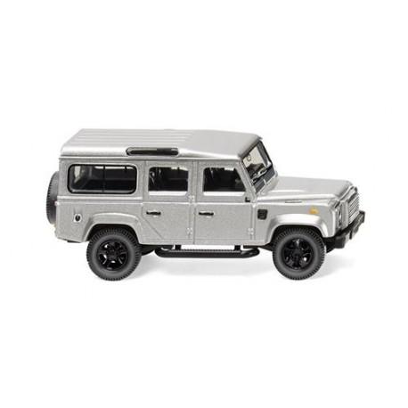 ** Wiking 010203 Land Rover Defender 110 Metallic Silver