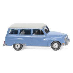 ** Wiking 012301 Auto Union 1000 Universal Blue/White Roof