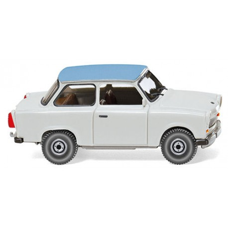 ** Wiking 012905 Trabant 601S Deluxe Grey/Blue Roof