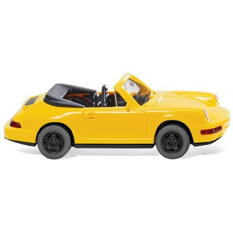 ** Wiking 016504 Porsche Carrera Yellow