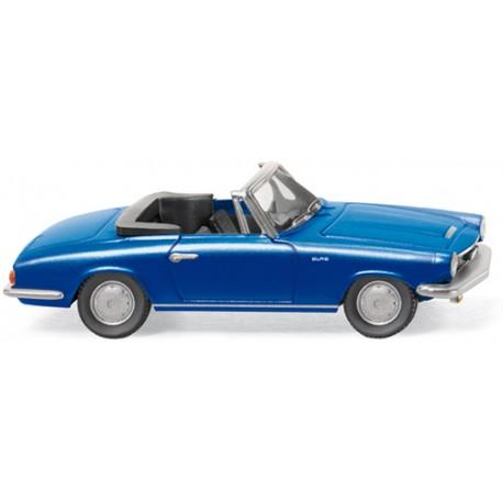 ** Wiking 018649 Glas 1700 GT Cabriolet Blue