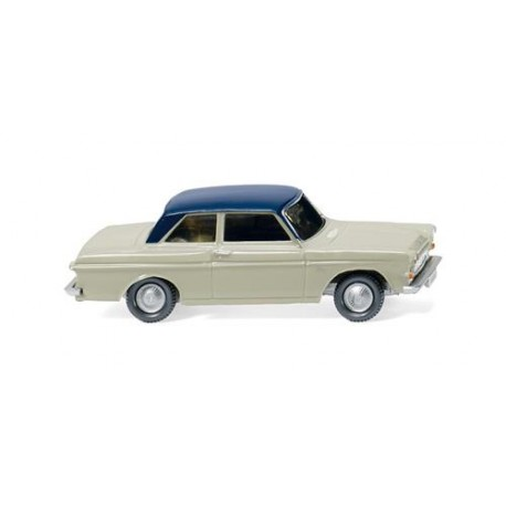 ** Wiking 020202 Ford Taunus 12M Pebble Grey/Blue