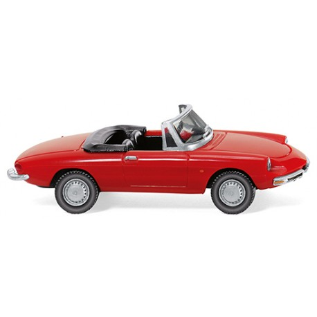 ** Wiking 020601 Alfa Spider Red