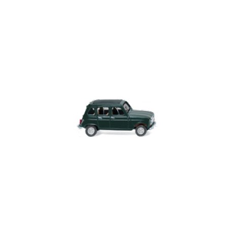 ** Wiking 022402 Renault R4 with Folding Roof Fir Green