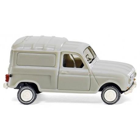 ** Wiking 022501 Renault R4 Box Van Grey