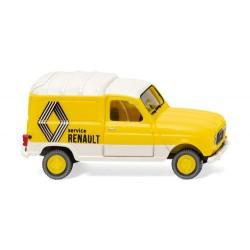 ** Wiking 022503 Renault R4 Box Van Renault Service