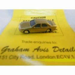 ** Graham Avis Details C07 Saloon Car Gold 1:150 N Scale
