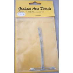 ** Graham Avis Details S11 Street Lamps 1:150 N Scale