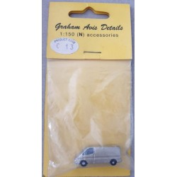 ** Graham Avis Details C13 Silver High Roof Van 1:150 N Scale