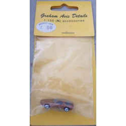 ** Graham Avis Details C08 Gold Car 1:150 N Scale