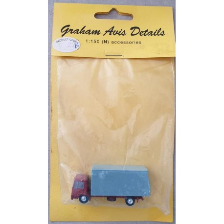 ** Graham Avis Details C22B Lorry Red/Grey 1:150 N Scale