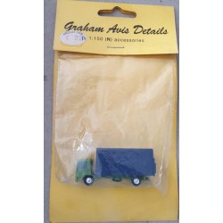 ** Graham Avis Details C22A Lorry Green/Blue 1:150 N Scale