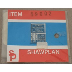 ** Shawplan Name Plates 59002 Yeoman Enterprise for 00 / HO locomotives