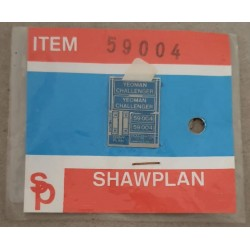 ** Shawplan Name Plates 59004 Yeoman Challenger for 00 / HO locomotives
