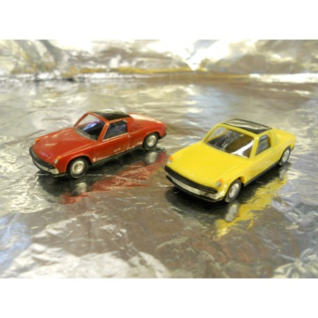 ** Herpa 451611-1 VW-Porsche 914 (2 Cars per pack)