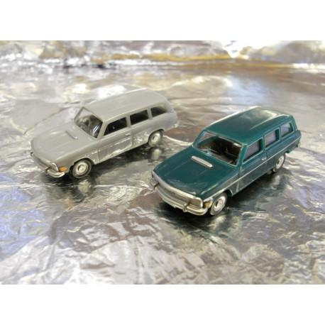** Herpa 451581 Audi 60 Variant (2 Cars Per Pack)
