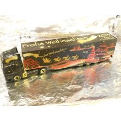"""** Herpa 302845  MAN TGX XXL Euro 6 Box Semitrailer """"Herpa Weihnachtstruck 2013"""" ."""