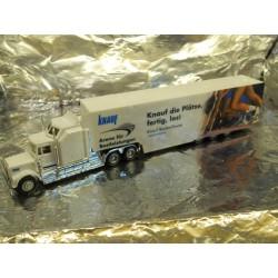 """** Herpa 289146 Kenworth Box Semitrailer """"Knauf"""""""