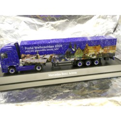 ** Herpa 294539 Mercedes Benz Actros LH Box Semitrailer Christmas 2009
