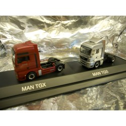 ** Herpa 288217 MAN Set TGX/TGS PC