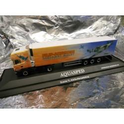 ** Herpa 120982 Scania TL Refrigerated Box Semitrailer Aquasped/Filip Design PC