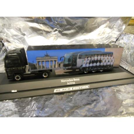 ** Herpa 279536 Mercedes Benz Actros LH Euro Box Semitrailer DFB / Black Edition
