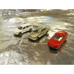 ** Wiking 9190625   3 x Assorted Cars (Passat,Audi,M8)