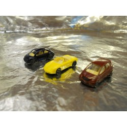 ** Wiking 9180627  3 x Assorted Cars (Mercedes, Porsche, Beetle)