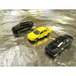 ** Wiking 09190725  3 x Assorted Cars (Audi A6, MB E-Class, VW Passat Variant)