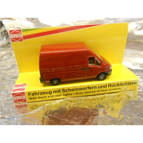 """** Busch 5636   Fiat  """" Ducato """" Van  with Working Front and Rear Lights 14-16 volts."""